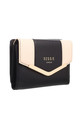 SMALL TWO TONE PURSE BLACK by BESSIE LONDON