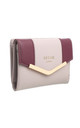 SMALL TWO TONE PURSE GREY by BESSIE LONDON