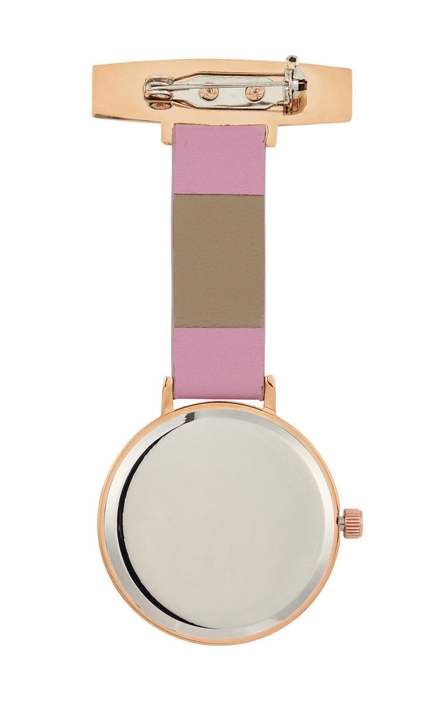 Meraki Rose Gold/Marble/Pink Leather Fob 35 by Peachy Label