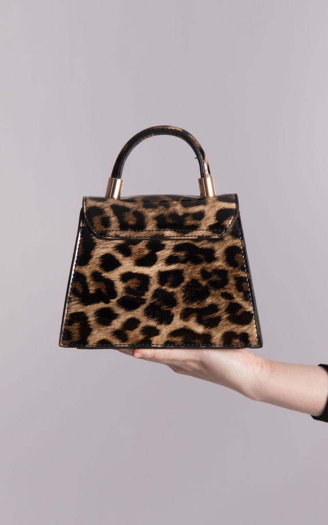 Tracy Leopard Print Grab Bag by KoKo Couture