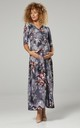 Maternity & Nursing Layered Maxi Dress 608 CL10 by Chelsea Clark