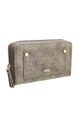 URBAN SNAKE PRINT WALLET by BESSIE LONDON
