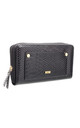 URBAN SNAKE PRINT WALLET BLACK by BESSIE LONDON