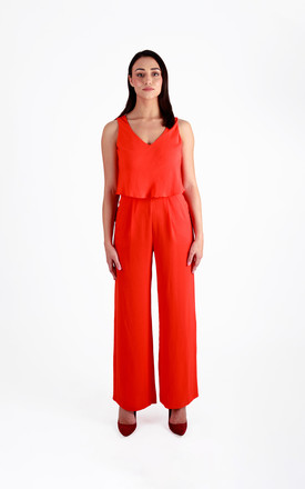 Double Layer Jumpsuit with Pocket by Pineapple