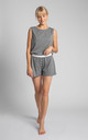 Boxer Style Shorts in Grey by MOE