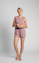 Boxer Style Shorts in Dirty Pink by MOE