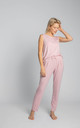 Loose Pyjama Pants in Pink by MOE