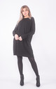 Wide neck jumper dress with pockets by Lucy Sparks
