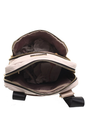 SMALL SMART NYLON CROSS BODY BAG by BESSIE LONDON