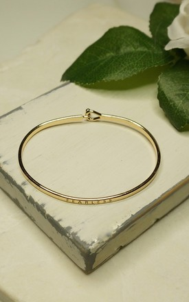 'Fearless' Inspirational Bangle by EPITOME JEWELLERY