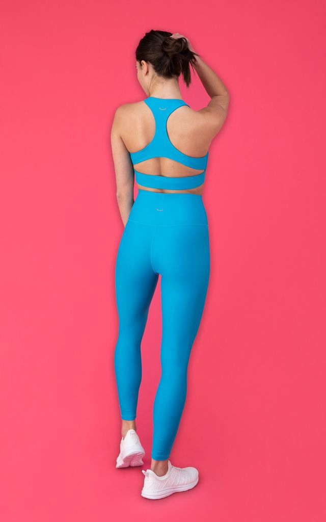 Electric Blue Sports Bra - Pulse 2.0 by Skimmed Milk