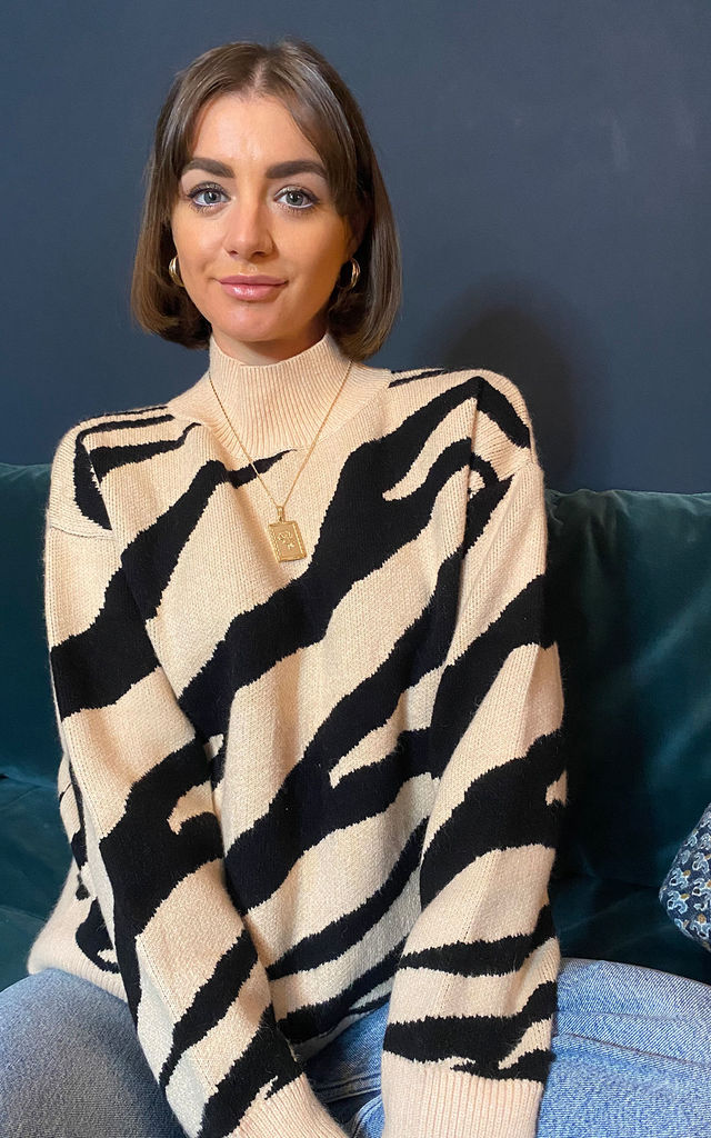 Lewis Zebra Jumper by Zibi London