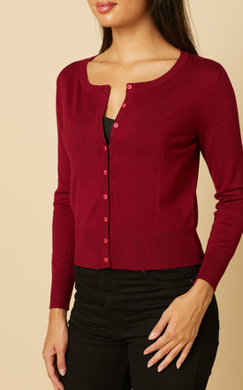 9 Button Cardigan by Timeless London
