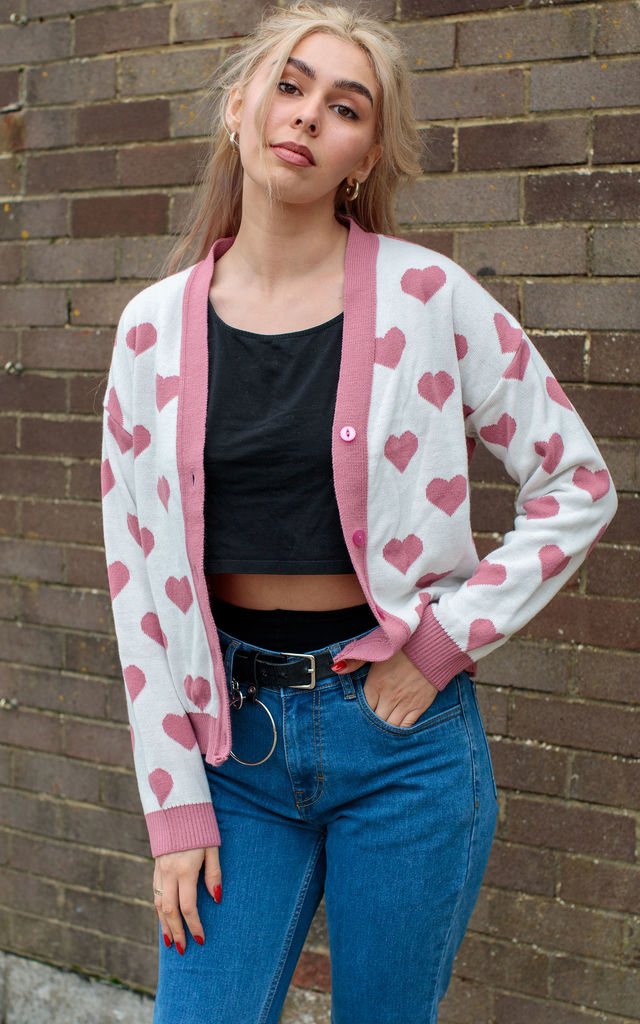 I Heart You Cardigan by In The Knitwear