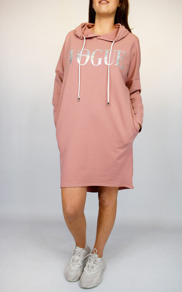 Pink 'VOGUE' Tunic Dress by Tilly Tizarro