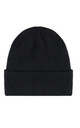 Knitted Ribbed Beanie in Black by My Accessories London