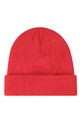 Knitted Ribbed Beanie in Red by My Accessories London