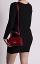 Kristina Red Mini Shoulder Bag by KoKo Couture