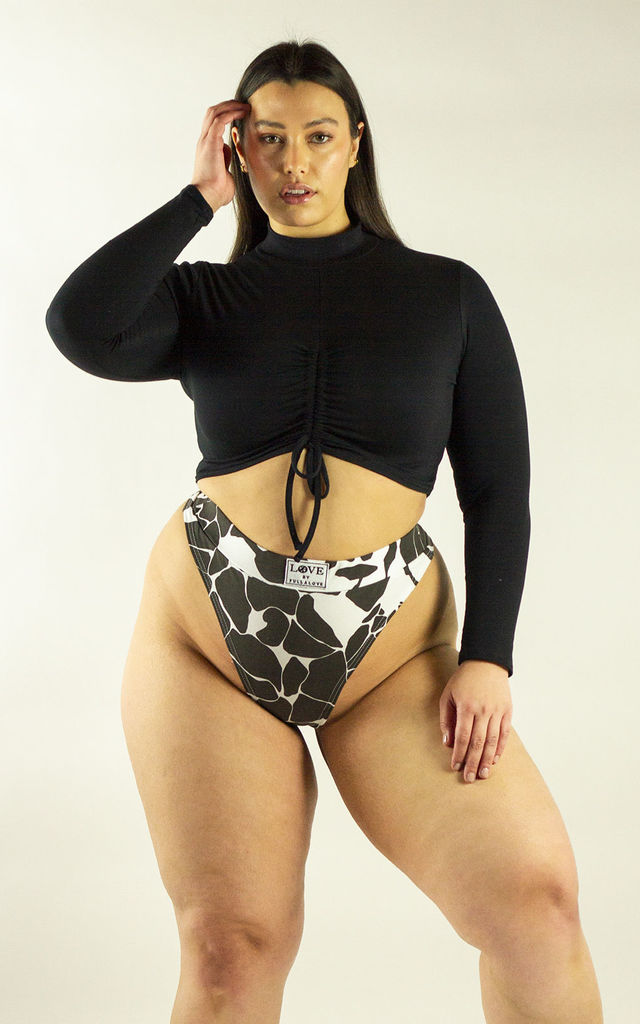 Monochrome Thong by Fullalove Clothing