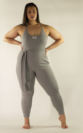 Isabella Jumpsuit Grey by Fullalove Clothing