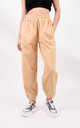 Sand Casual Sweat Oversized Joggers by Boutique Store