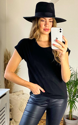 Short Sleeve Round Neck Tee - Black by ONLY