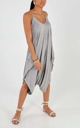 Chills Ville Culottes Summer Jumpsuit Grey by Doll And Me