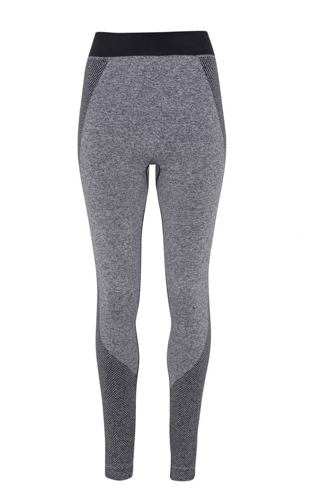 Seamless Bum Lift Sculpting Leggings - Charcoal by Hortons England