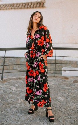 Pyjama Jumpsuit - Bright Floral by Out of the Ordinary