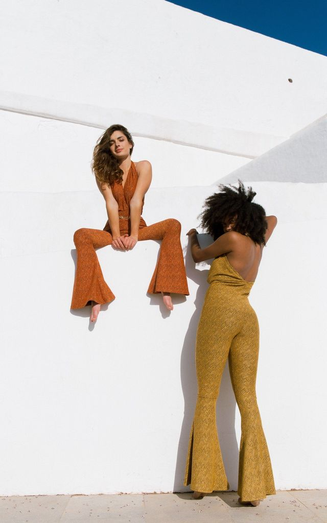 GoGo Jumpsuit - Golden Yellow by Out of the Ordinary