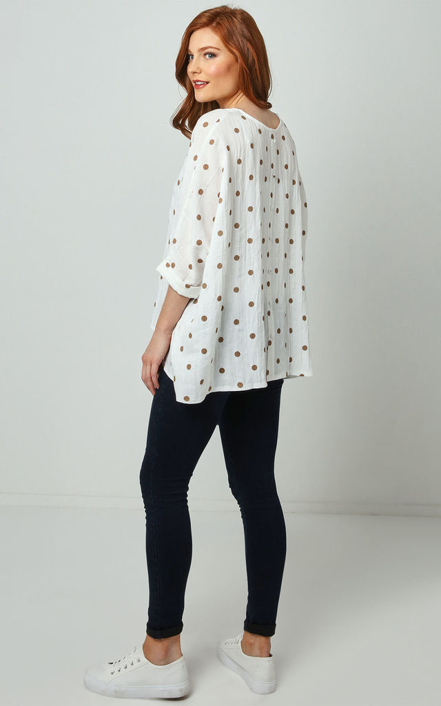 Joe Browns Polka Dot Batwing Top by Joe Browns