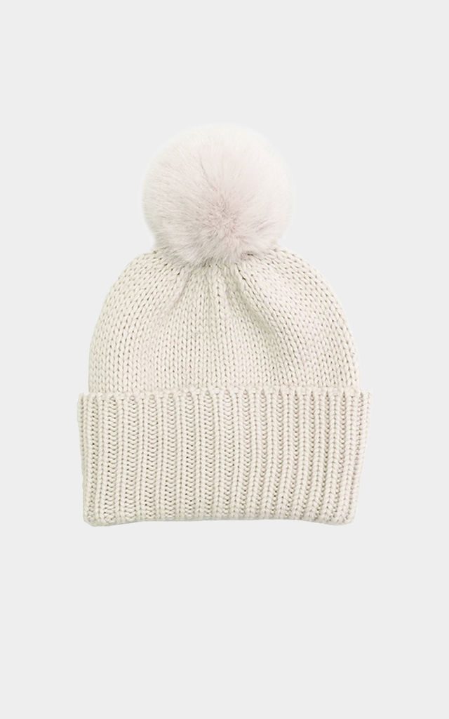 Pom pom hat by Urbancode London