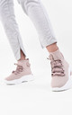 Pink Lace Up Chunky Sock Trainer by Boutique Store