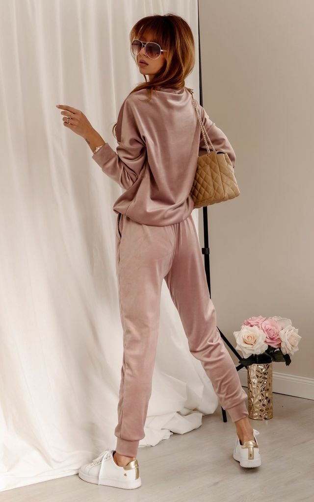 Pink Tracksuit with Logo by By Ooh La La