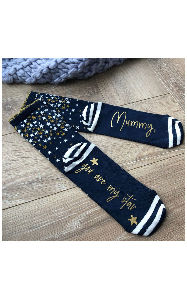 Mummy You Are My Star Socks by Solesmith