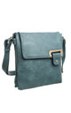 CLASSIC BESSIE TRAVEL CROSSBODY TURQUOISE by BESSIE LONDON
