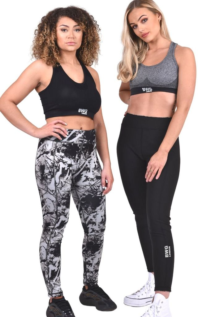 """Active"" Reversible Legging by Big Wide Grin"