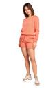 Knitted Shorts in Orange by MOE
