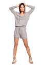 Knitted Shorts in Grey by MOE