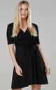 Women's Mini Sundress in Black by Chelsea Clark