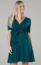 Women's Mini Sundress in Dark Green by Chelsea Clark