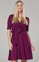 Women's Mini Sundress in Plum by Chelsea Clark