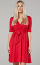 Women's Mini Sundress in Red by Chelsea Clark