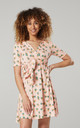 Women's Mini Sundress in Apricot by Chelsea Clark
