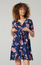 Women's Mini Sundress in Navy by Chelsea Clark