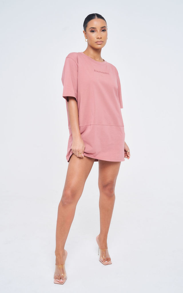 Essential Oversized Shirt - Misty Rose by sianmarie.com