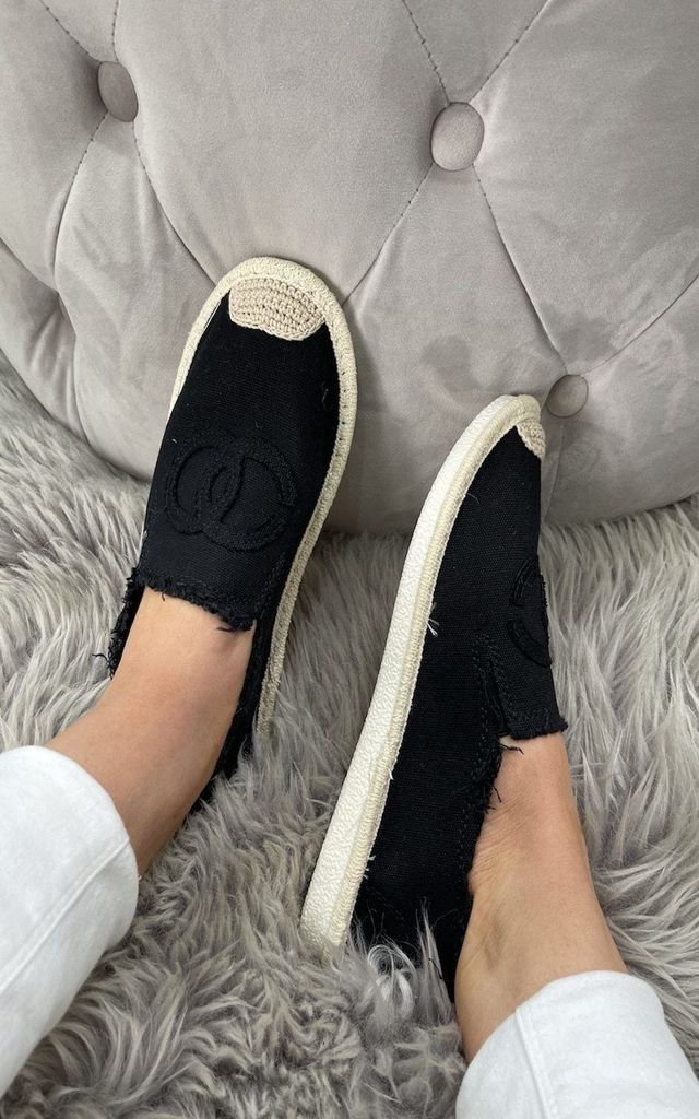 Black Co Co Espadrilles by Want That Trend
