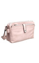 VINTAGE MULTI COMPARTMENT CROSS BODY BAG PINK by BESSIE LONDON