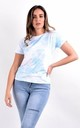 Blue Graphic Printed T-Shirt by Boutique Store